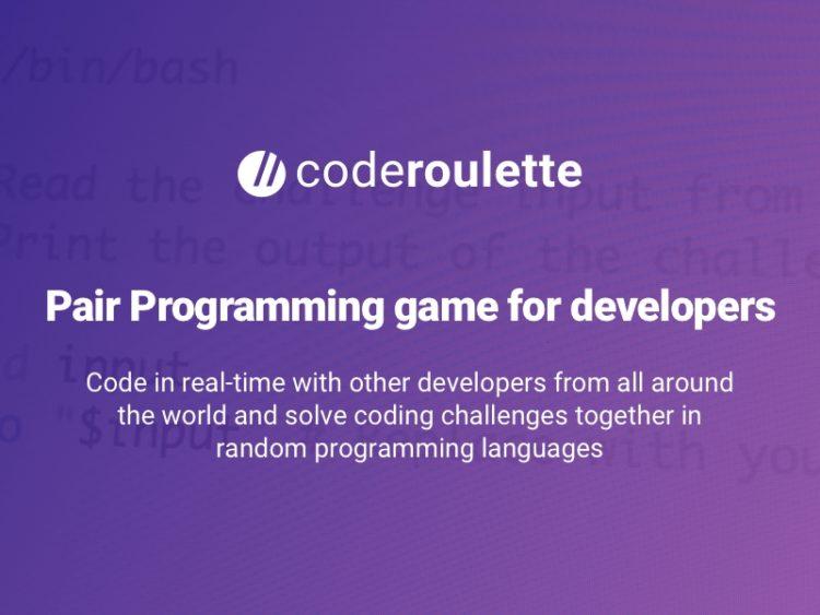 Coderoulette – la roulette dei programmatori